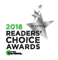 2018 Readers Choice Platinum Award